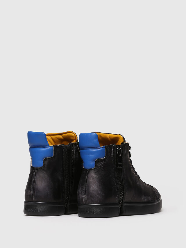 Diesel - S-NENTISH, Black/Blue - Sneakers - Image 2