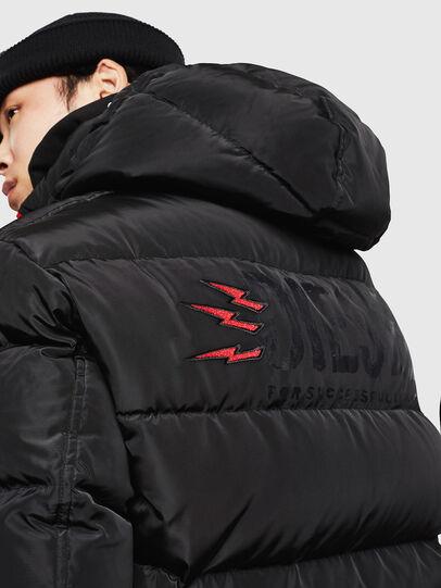 Diesel - CL-W-SMITH-LITM, Black - Winter Jackets - Image 5