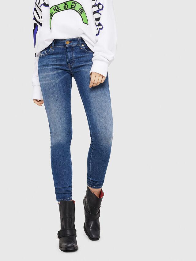 Diesel - Slandy Low 088AU, Medium blue - Jeans - Image 1