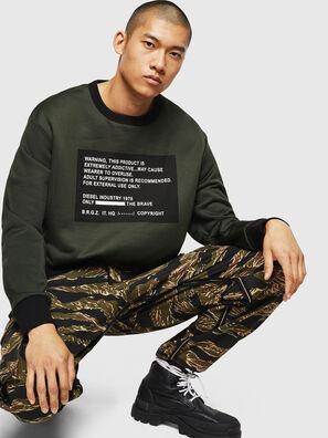 S-BAY-MESH, Dark Green - Sweaters