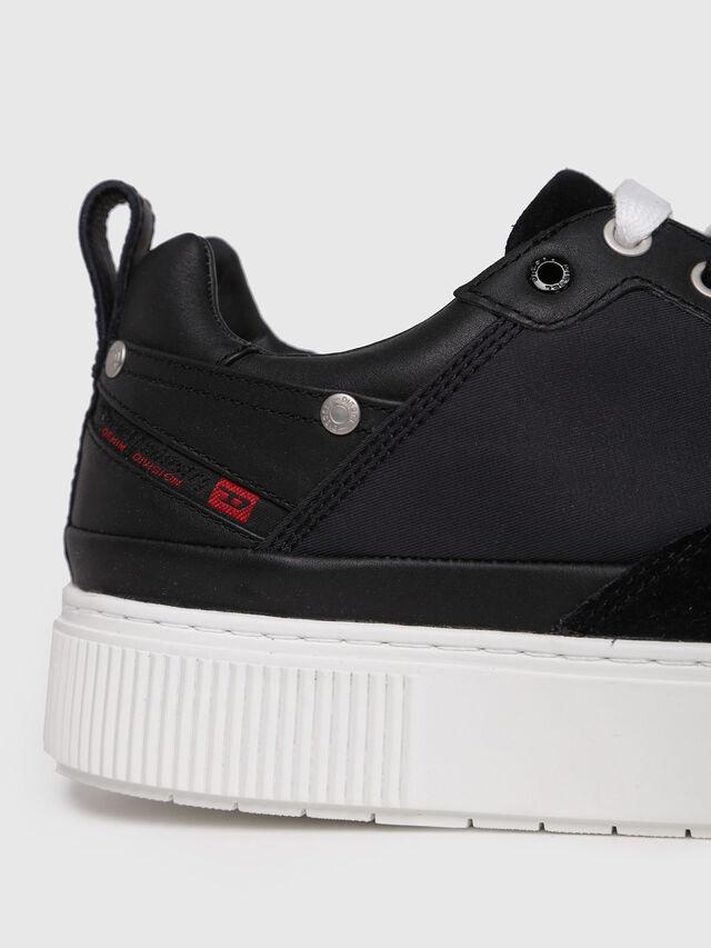 Diesel - S-DANNY LC, Black - Sneakers - Image 4