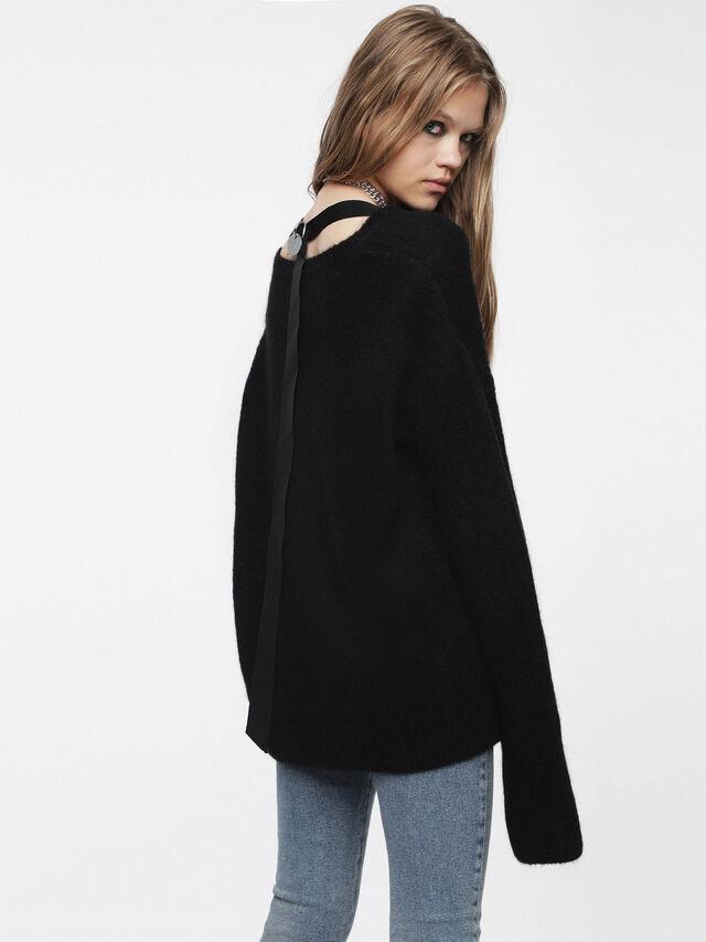 Diesel - M-ALPY, Black - Knitwear - Image 2