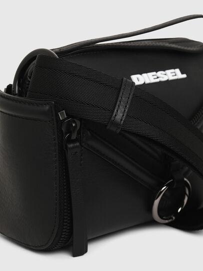 Diesel - LE-ZIPPER CROSSBODY, Black - Crossbody Bags - Image 6