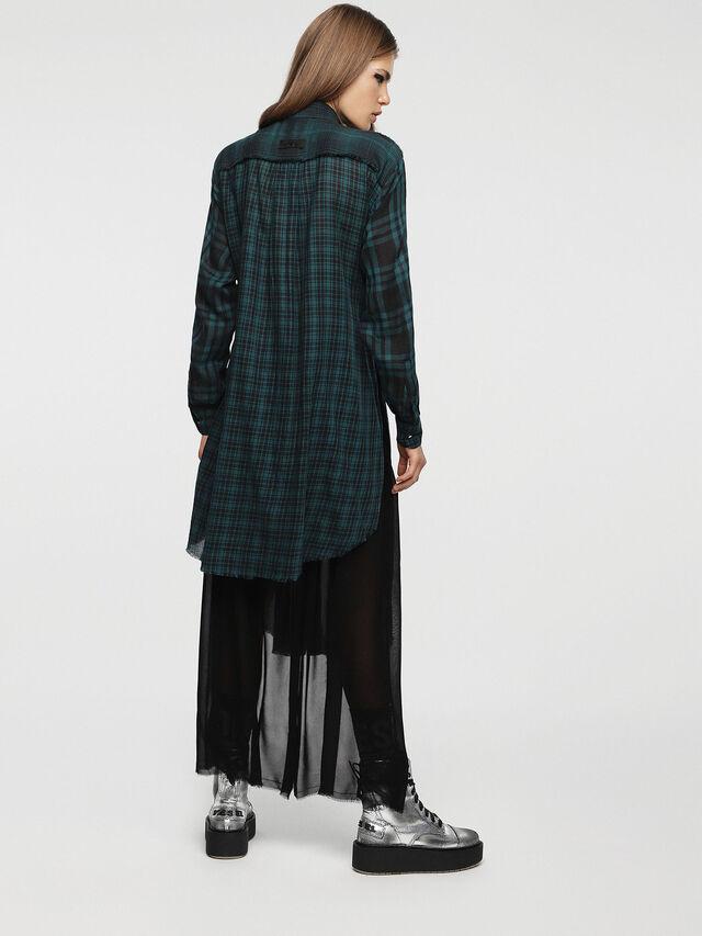 Diesel - D-BAGGY, Green/Black - Dresses - Image 2