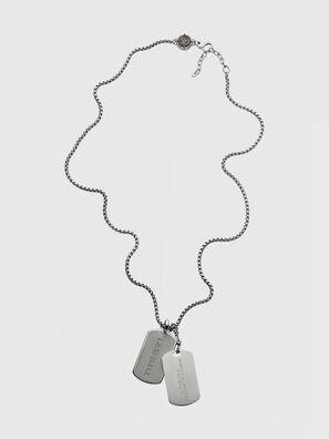 DX1194, Silver - Necklaces