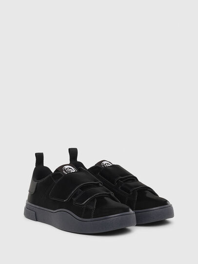 Diesel - S-CLEVER LOW STRAP W, Black - Sneakers - Image 2