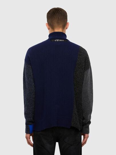 Diesel - K-MEL, Dark Blue - Knitwear - Image 2
