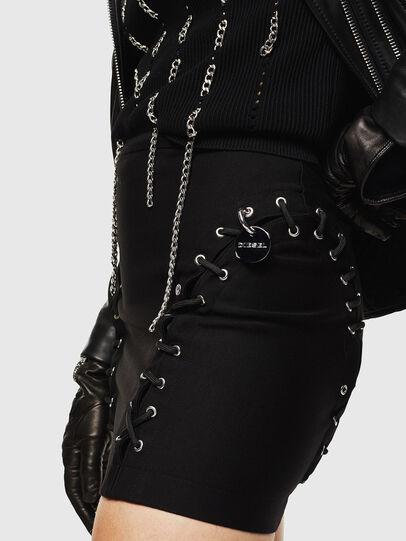 Diesel - O-FUJO, Black - Skirts - Image 3
