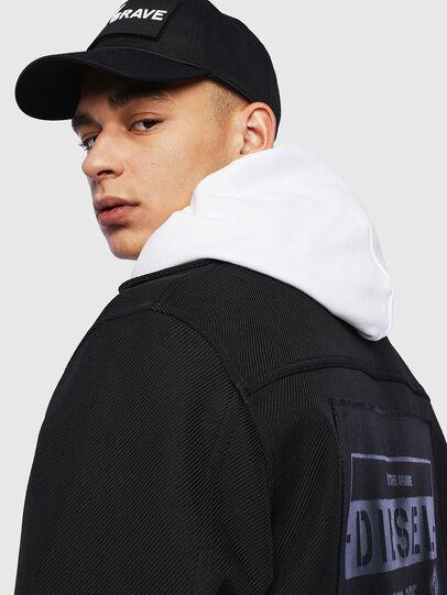 Diesel - J-JESSY-HOOD, Black - Jackets - Image 6