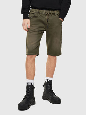 D-KROOSHORT JOGGJEANS, Olive Green - Shorts