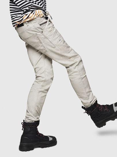 Diesel - Krooley JoggJeans 069GT, Light Grey - Jeans - Image 5