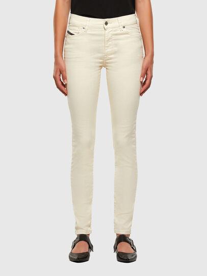 Diesel - D-Roisin 0096H, White - Jeans - Image 1