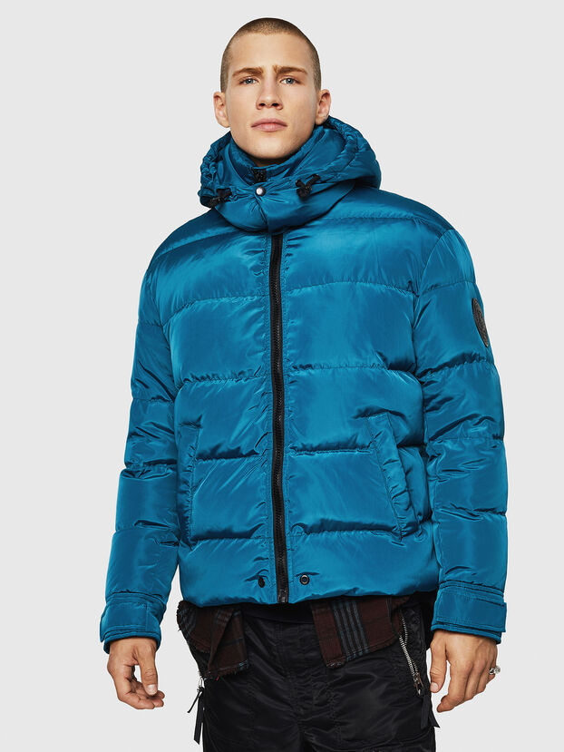 W-SMITH-YA, Blue/Green - Winter Jackets
