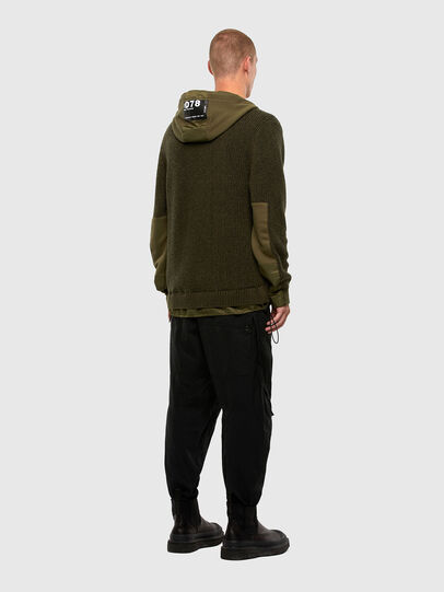 Diesel - K-THOMPSON, Olive Green - Jackets - Image 6