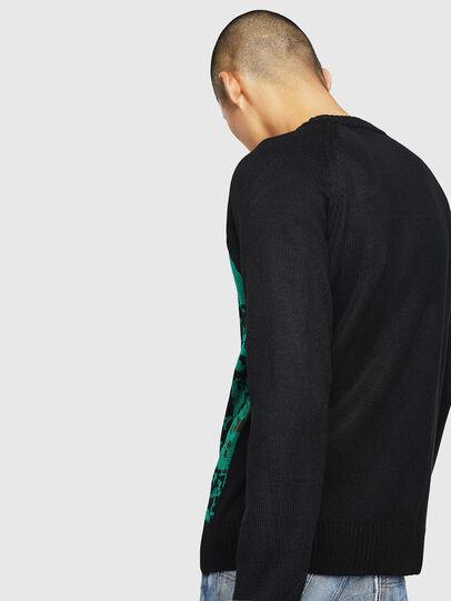 Diesel - K-CV-XMAX, Black - Knitwear - Image 5