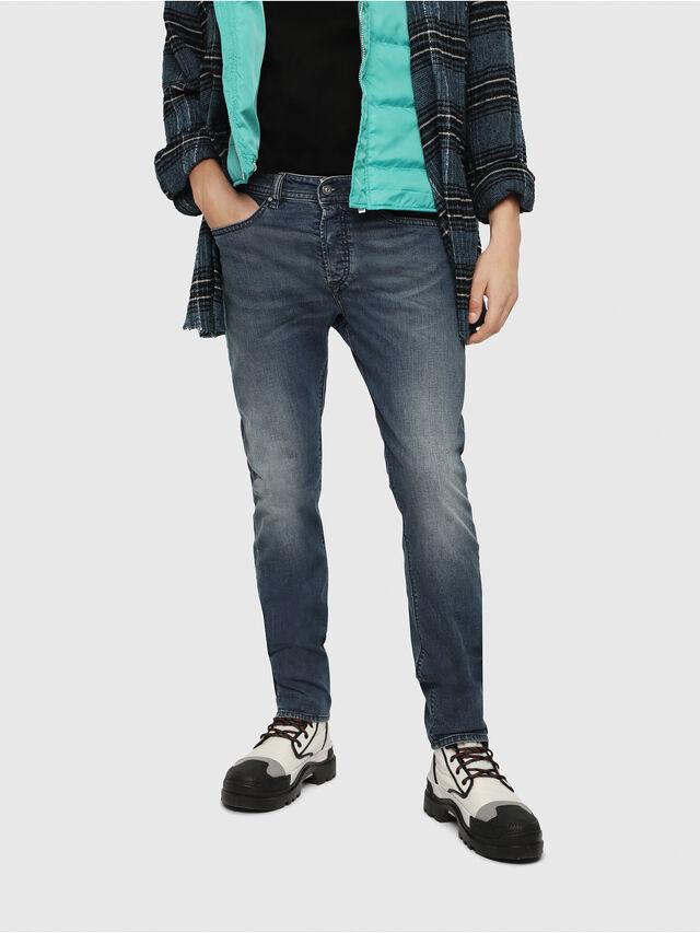 dea025a7 BUSTER 084TU Men: Tapered Medium blue Jeans | Diesel