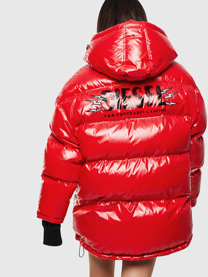Diesel - CL-W-ALLA-LITM, Red - Winter Jackets - Image 2