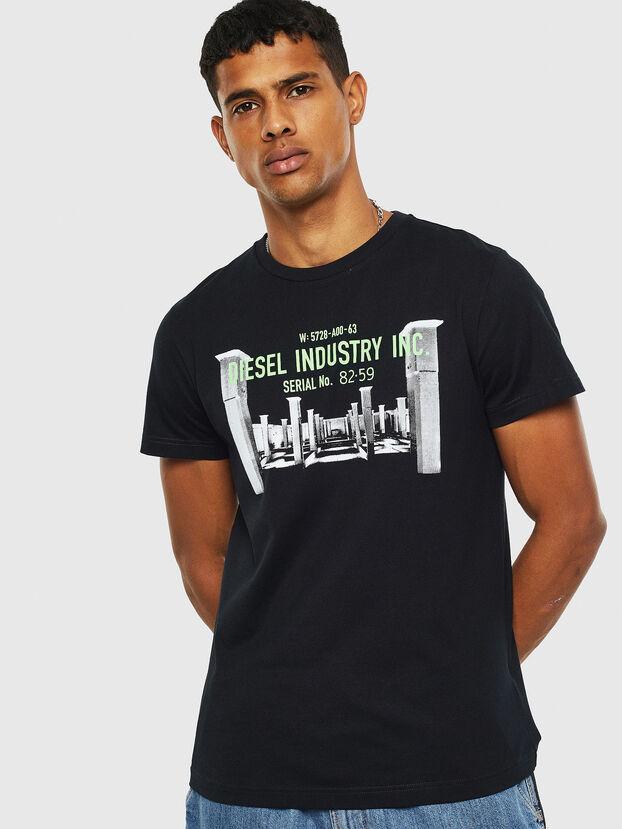 T-DIEGO-S13, Black - T-Shirts
