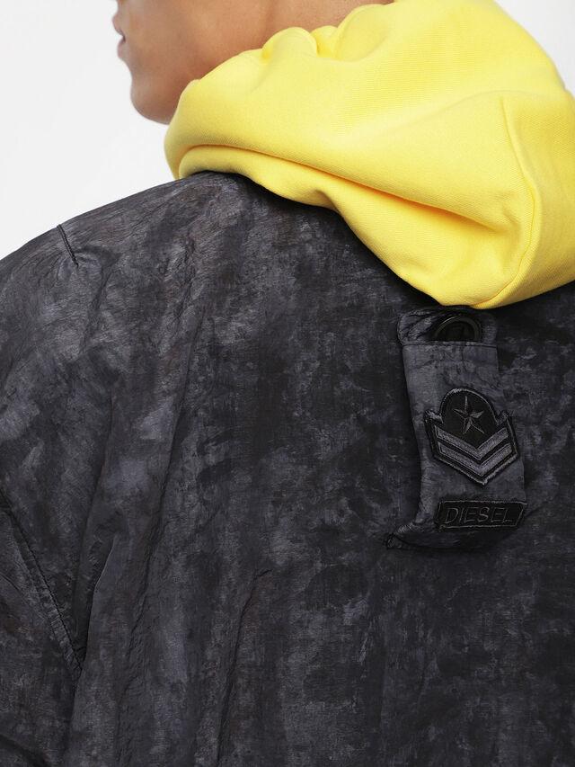 Diesel - J-SOULY-TYE, Dark Melange - Jackets - Image 3