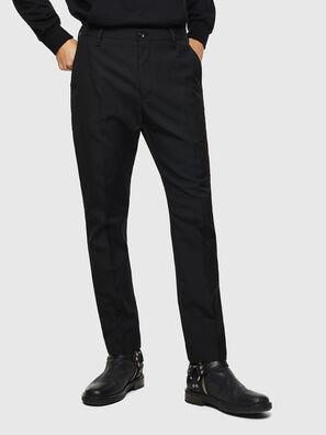 P-JARED-WOOL, Black - Pants