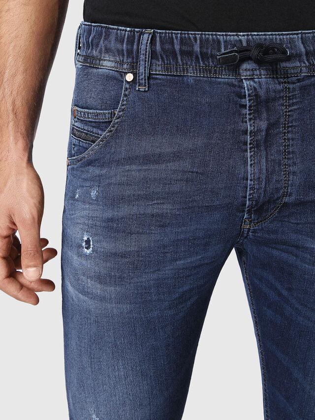Diesel Krooley JoggJeans 0686W, Dark Blue - Jeans - Image 5