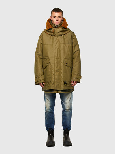 Diesel - W-STEVE, Military Green - Winter Jackets - Image 1
