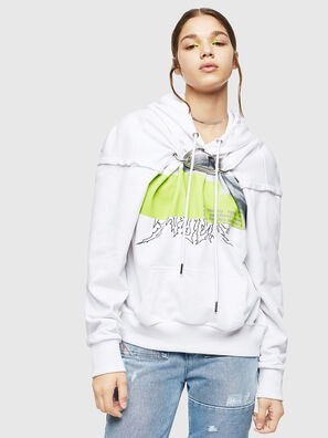F-ALBYHOOK, White - Sweaters