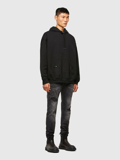 Diesel - Sleenker 009JN, Black/Dark grey - Jeans - Image 6