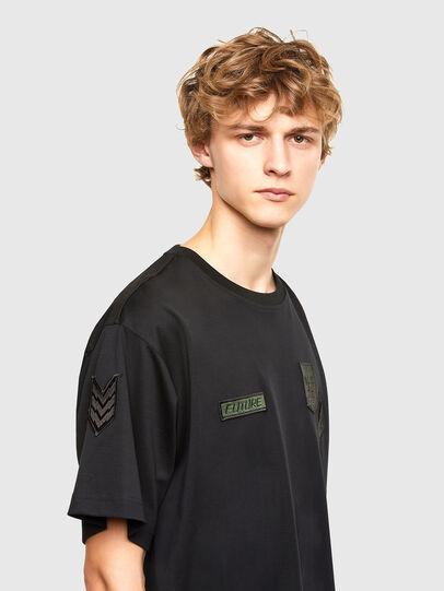 Diesel - T-CROLF, Black - T-Shirts - Image 3