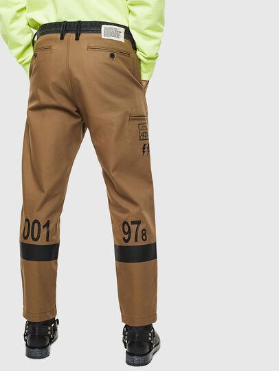 Diesel - P-KAPP, Brown/Black - Pants - Image 2