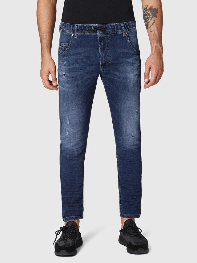 Diesel Krooley JoggJeans 0686W, Dark Blue - Jeans - Image 1