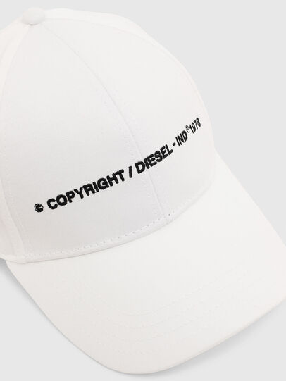 Diesel - COMIXI, White - Caps, Hats and Gloves - Image 3