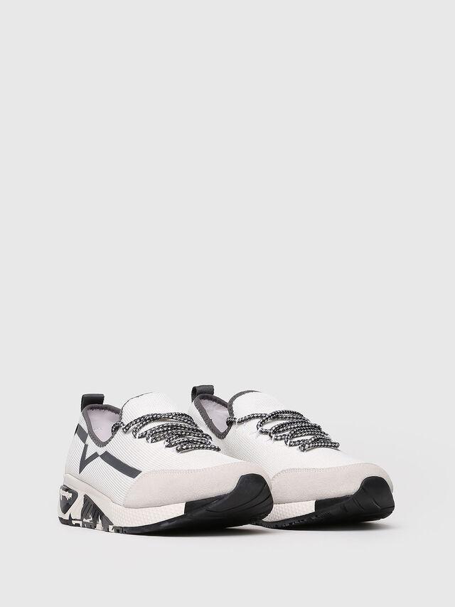 Diesel - S-KBY, White/Grey - Sneakers - Image 3