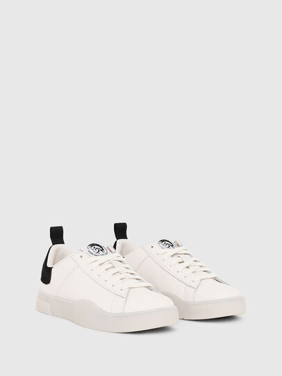 Diesel - S-CLEVER LOW LACE W, White/Black - Sneakers - Image 2