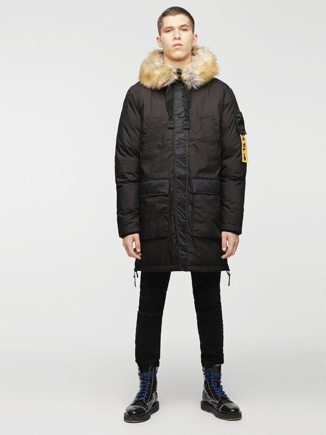 Diesel - W-BULLION, Black - Winter Jackets - Image 8