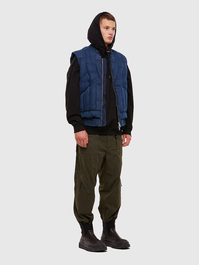 Diesel - D-WAIN, Medium blue - Denim Jackets - Image 5