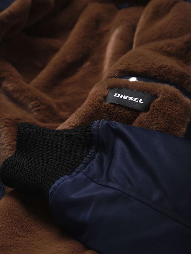 Diesel - W-SLOTKIN, Blue - Winter Jackets - Image 5