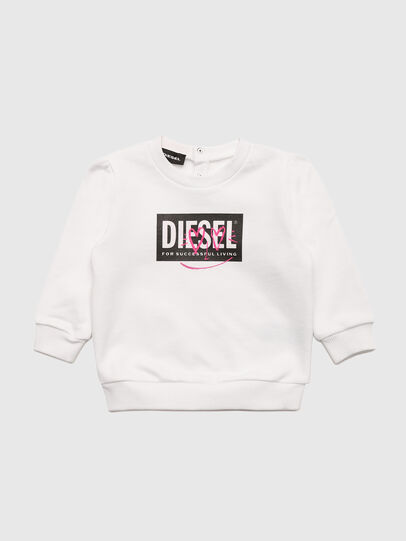 Diesel - SOOLB, White - Sweaters - Image 1