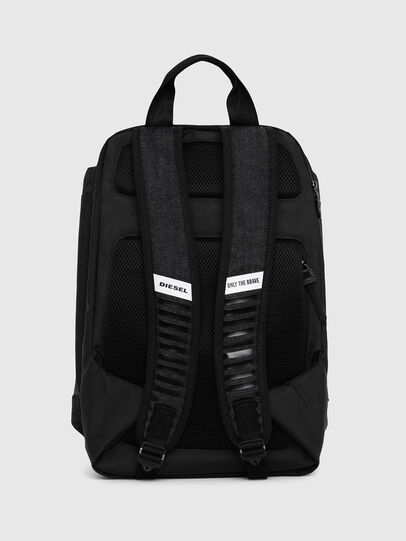 Diesel - D-SUBTORYAL BACK, Blue Jeans - Backpacks - Image 2