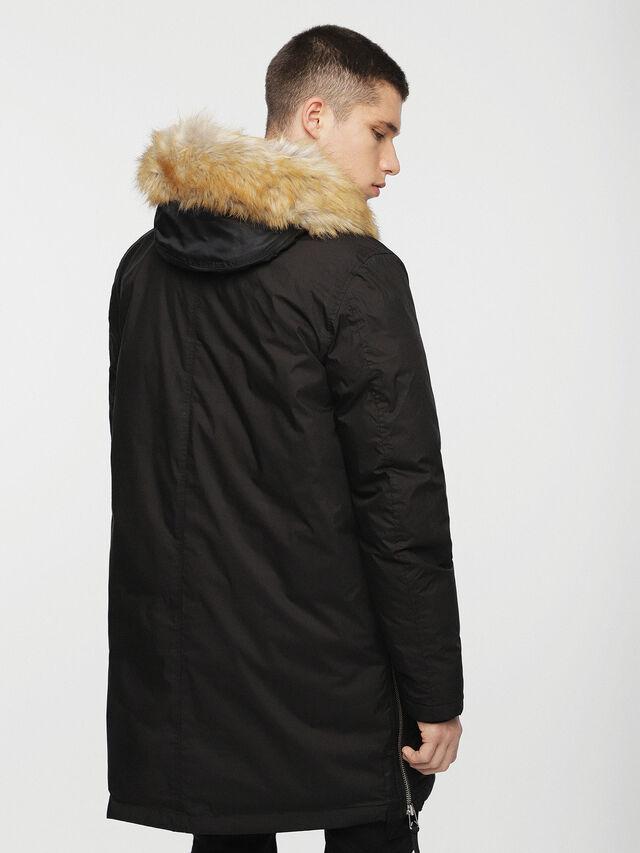 Diesel - W-BULLION, Black - Winter Jackets - Image 2