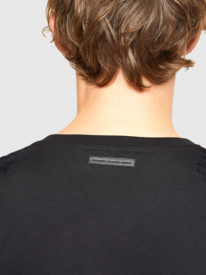 Diesel - T-IEGO-A, Black - T-Shirts - Image 4