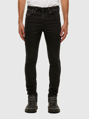 D-Reeft JoggJeans 009FY, Black/Dark grey - Jeans