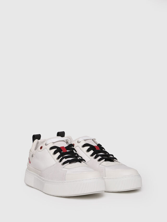 Diesel - S-DANNY LC, Cream - Sneakers - Image 3