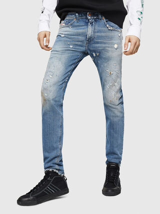 a6fabb89 THOMMER 087AY Men: Slim Light blue Jeans | Diesel