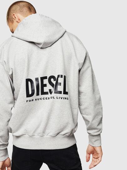 Diesel - LR-S-GIRK-HOOD-VIC, Grey - Sweaters - Image 2