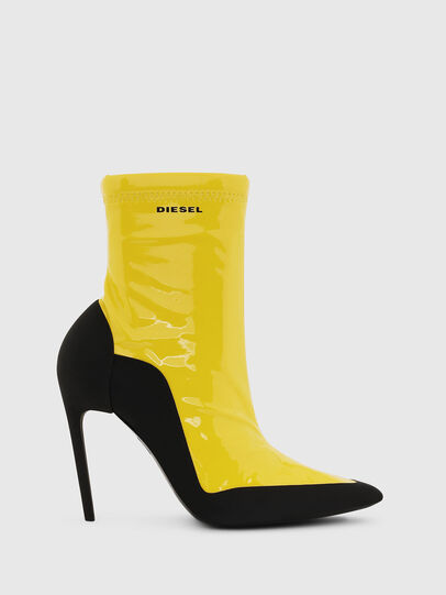 Diesel - D-SLANTY ABH, Yellow - Ankle Boots - Image 1