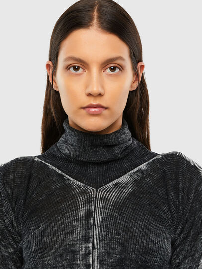 Diesel - M-ISABELLE, Black - Knitwear - Image 4