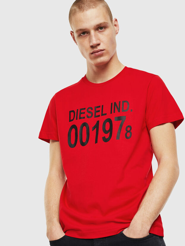 T-DIEGO-001978, Red - T-Shirts