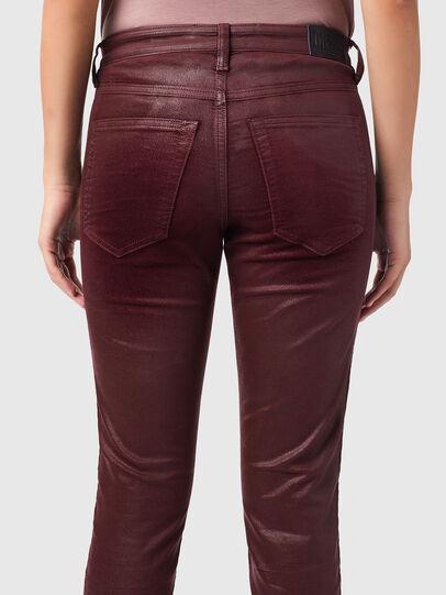 Diesel - Babhila 069XI, Red - Jeans - Image 4
