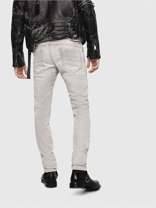 Diesel - Thommer 0684I, Light Grey - Jeans - Image 2